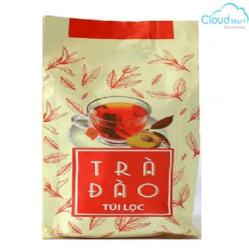 Trà túi lọc Vinsaf hương Đào (4g*100 túi)
