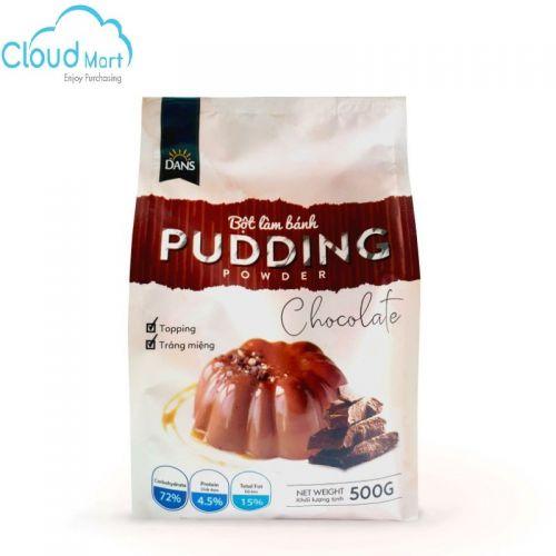 Bột Pudding Chocolate hiệu Dans