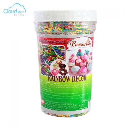 Cốm màu Rainbow Decor Premier Win