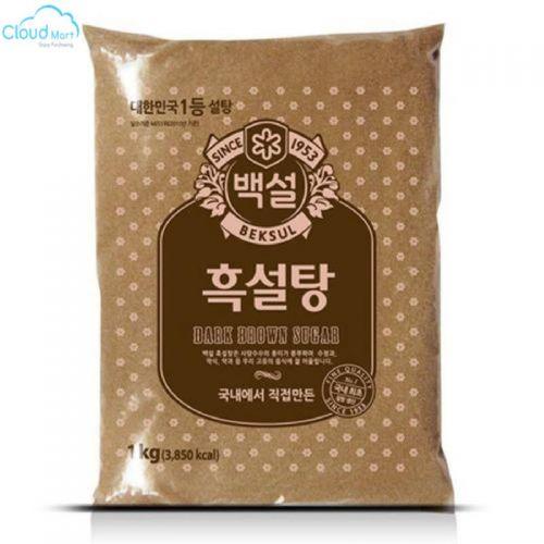 Đường Nâu Hàn Quốc Dark Brown Sugar