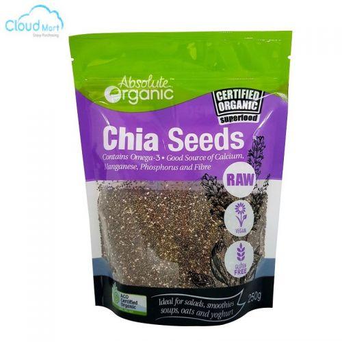 Hạt Chia Seeds Absolute Organic
