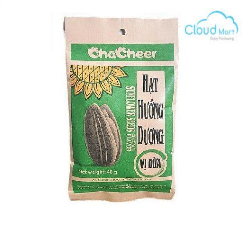 Hạt hướng dương vị dừa Chacheer 40g (20 gói/bịch)