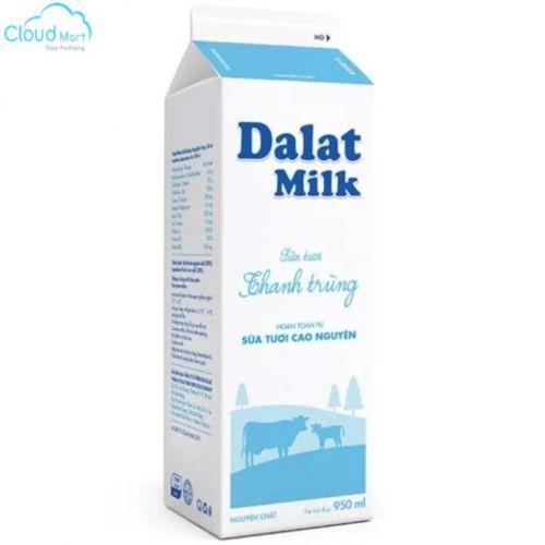 Sữa Tươi Đà Lạt Milk 950ml