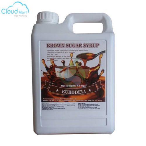 Syrup Đường Nâu Eurodeli 2.5kg