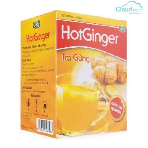 Trà Cozy Gừng Hot Ginger (10g*20 gói)