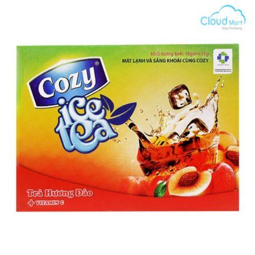 Trà Cozy hòa tan hương Đào 270g