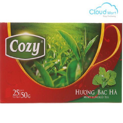 Trà Cozy hương Bạc Hà (2g*25 túi)