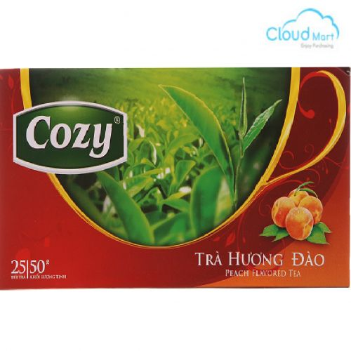 Trà Cozy hương Đào (2g*25 túi)