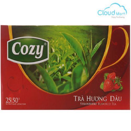 Trà Cozy hương Dâu (2g*25 túi)