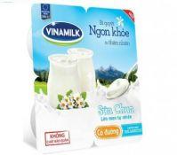 Sữa chua Vinamilk không đường