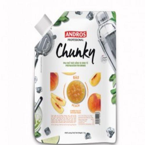 Mứt trái cây Andros Chunky đào giá rẻ