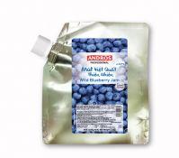 Mứt Việt Quất hiệu Andros ít đường – túi 1kg