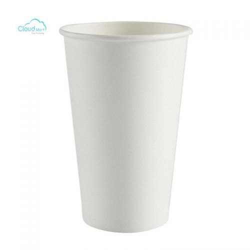 Ly Giấy 16Oz Single Wall Hot Cup - White