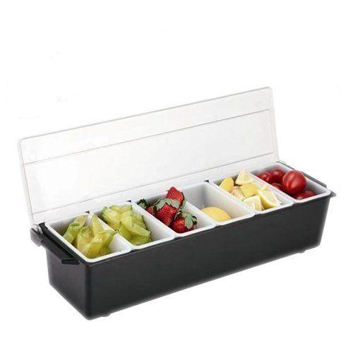 Khay Décor 6 ngăn (khay đựng gia vị - hoa quả)
