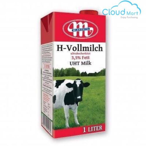 Sữa Tươi H-Vollmilch Nguyên Kem UHT 3,5% Béo 1L