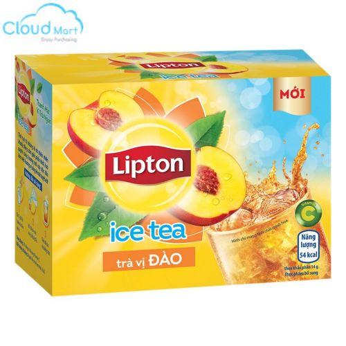 Trà Lipton hòa tan Đào 224g