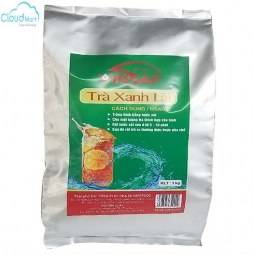 Trà Xanh Lài Vinsaf dùng pha trà chanh 1kg