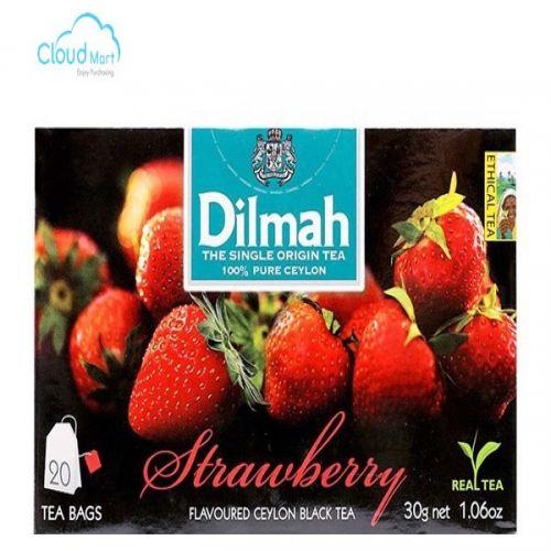 Trà Dilmah Strawberry (Dâu) 30g* 20 túi