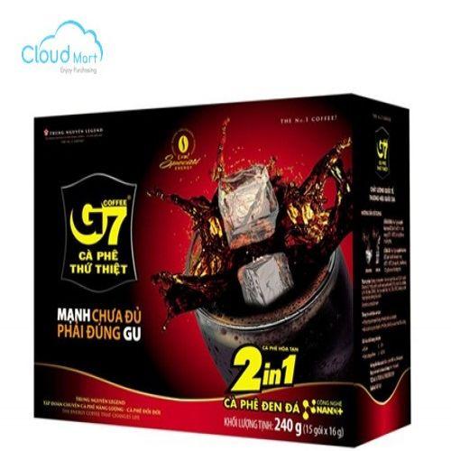 Cà Phê Hoà Tan Trung Nguyên G7 hộp 240g