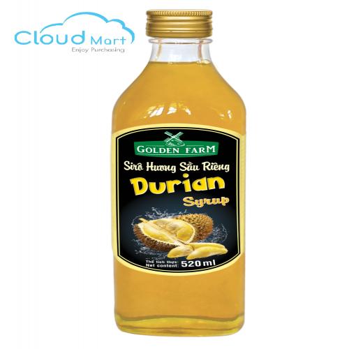 Syrup Golden Farm Durian (Sầu riêng) 520ml