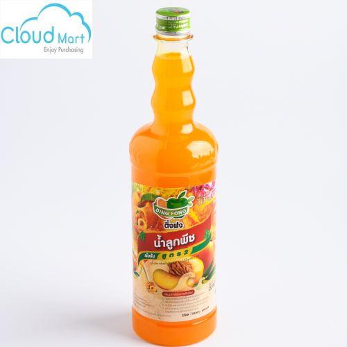 Syrup Thái Dingfong Peach (Đào) 730ml