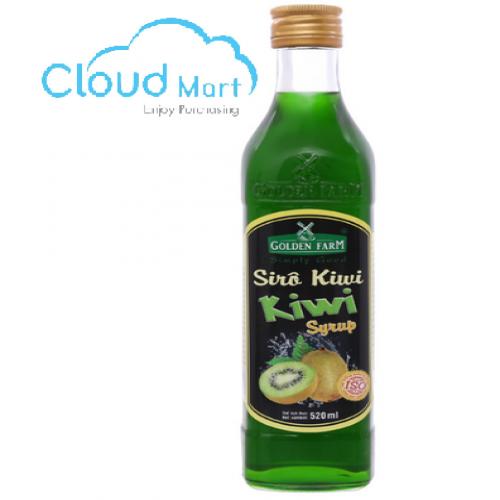 Syrup Golden Farm Kiwi 520ml
